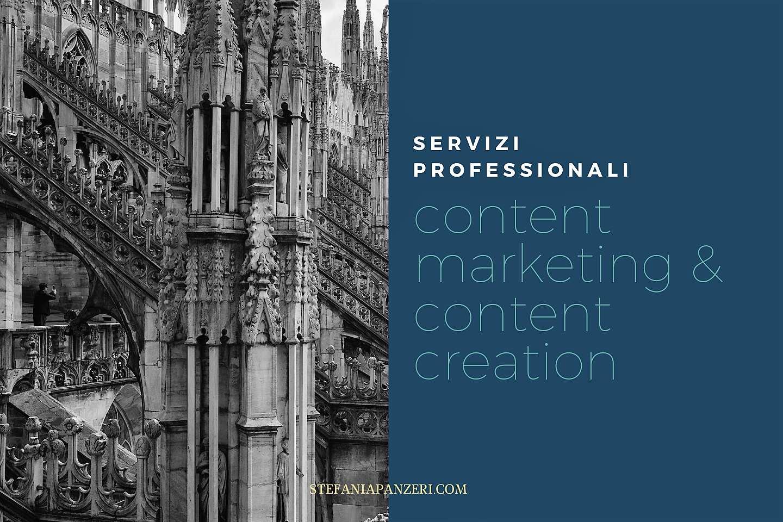 content marketing servizi professionali Stefania Panzeri